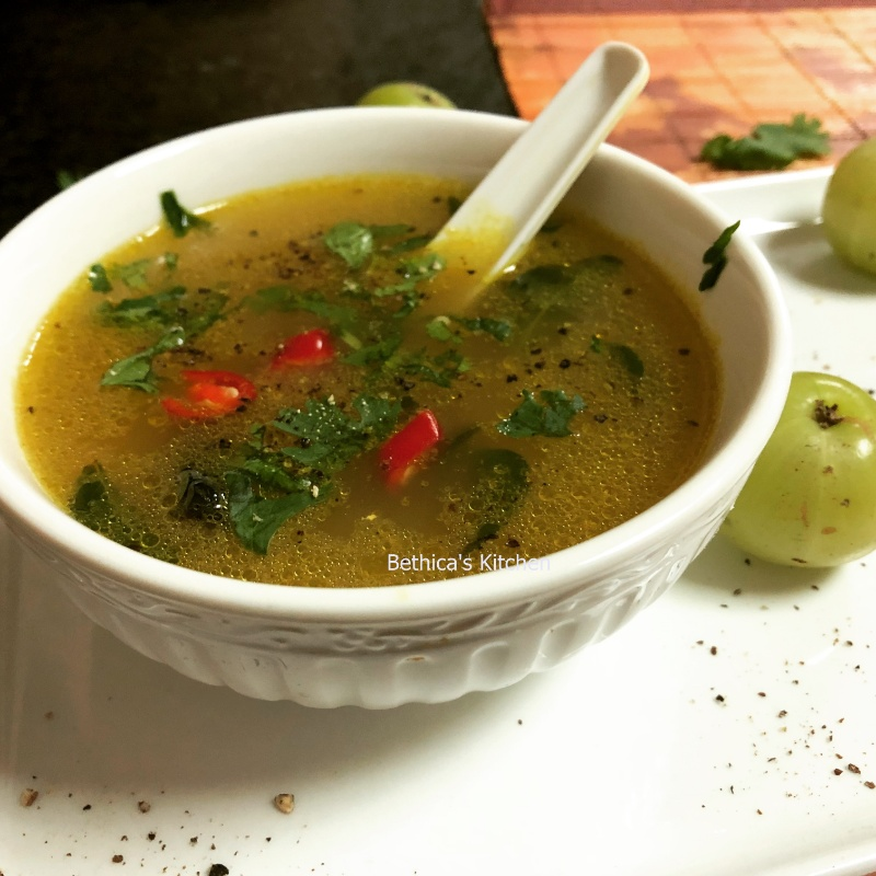 How to make Amla (Gooseberry) Rasam