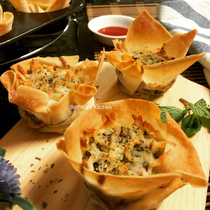 Photo of Lasagna Soya Cupcakes by Bethica Das at BetterButter