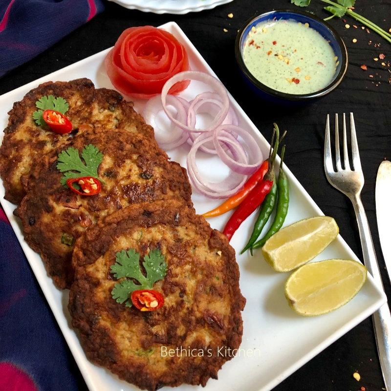 Photo of Chicken Chapli Kebab by Bethica Das at BetterButter