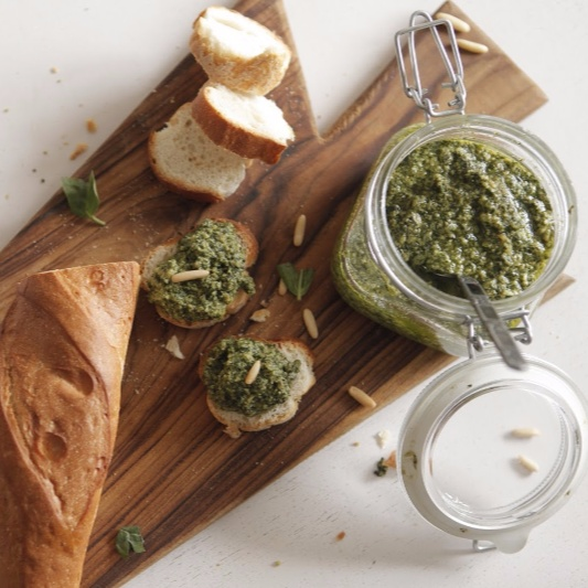 Photo of Classic Basil Pesto by BetterButter Editorial at BetterButter