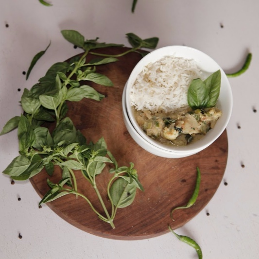 Photo of Vegetarian Thai Green Curry Paste by BetterButter Editorial at BetterButter