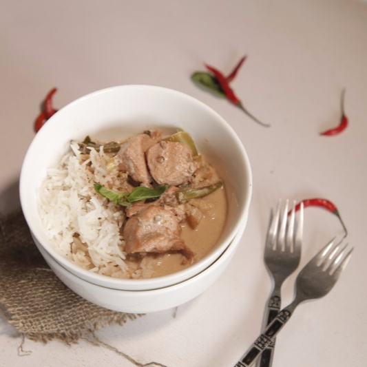Photo of Vegetarian Thai Red Curry Paste by BetterButter Editorial at BetterButter