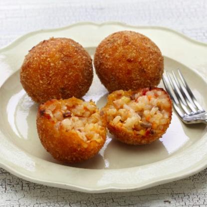 How to make Veg Rice Balls