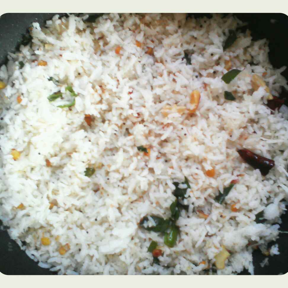 How to make Tasty coconut rice ( variety rice for lunch )
