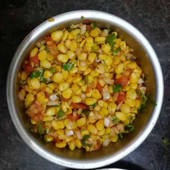 How to make Sweet corn chat