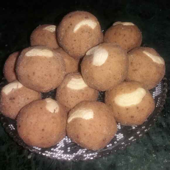 Photo of Berry mix wheat flour laddu by Bharti Kharote at BetterButter