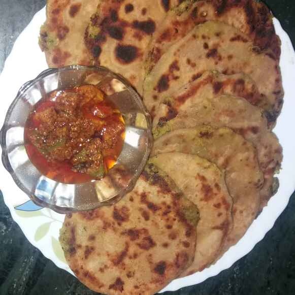 Photo of Baby Paratha stuffing Potato by Bharti Kharote at BetterButter