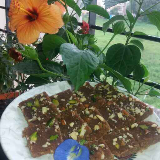Photo of Barfi in Shingada Flour by Bharti Kharote at BetterButter