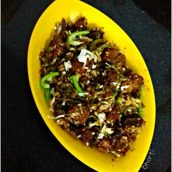 Photo of Chinese Vegetable Manchuriyan by Bharti Khatri at BetterButter