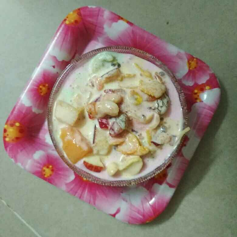Photo of fruits nuts pudding by Bhavani Murugan at BetterButter