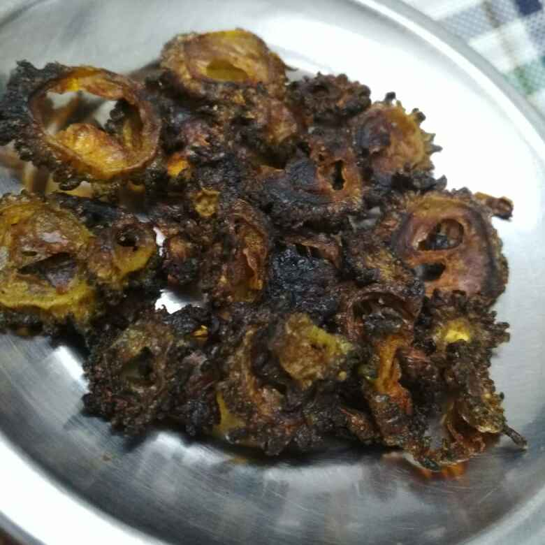 Photo of bitter gourd vathal by Bhavani Murugan at BetterButter