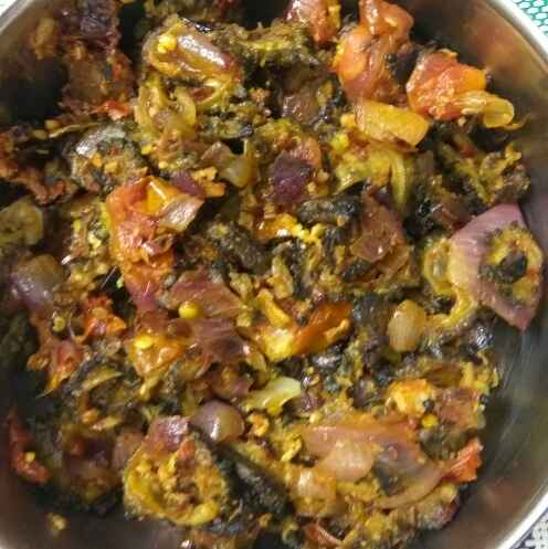 Photo of ground nut bittergourd curry by Bhavani Murugan at BetterButter