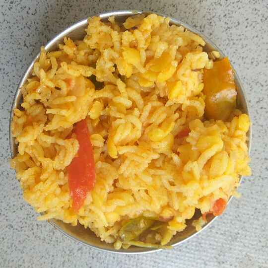Photo of spicy vegetable dalrice by Bhavani Murugan at BetterButter