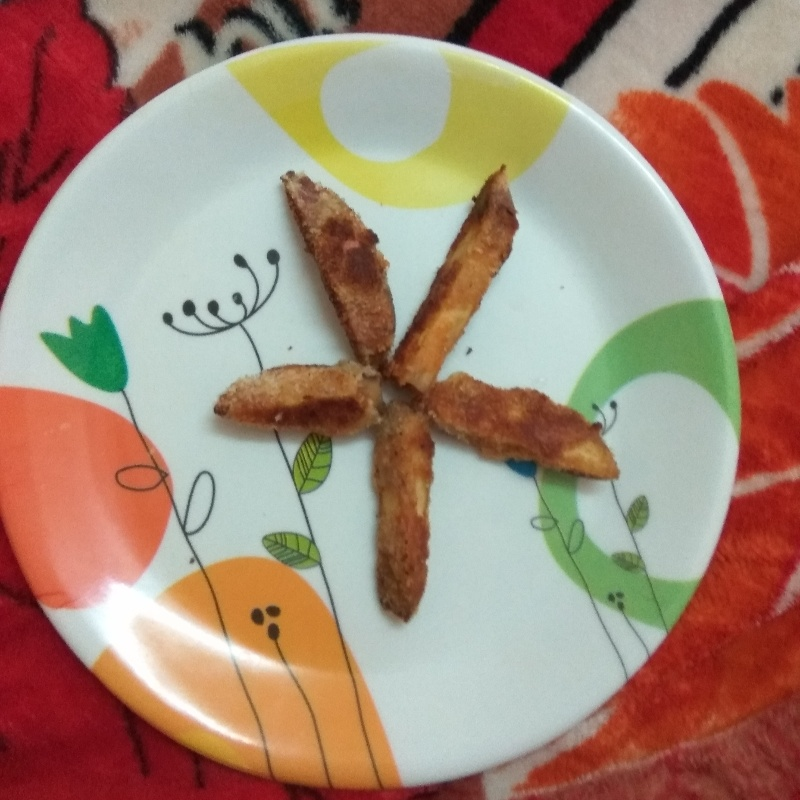 How to make sweet potato fritters