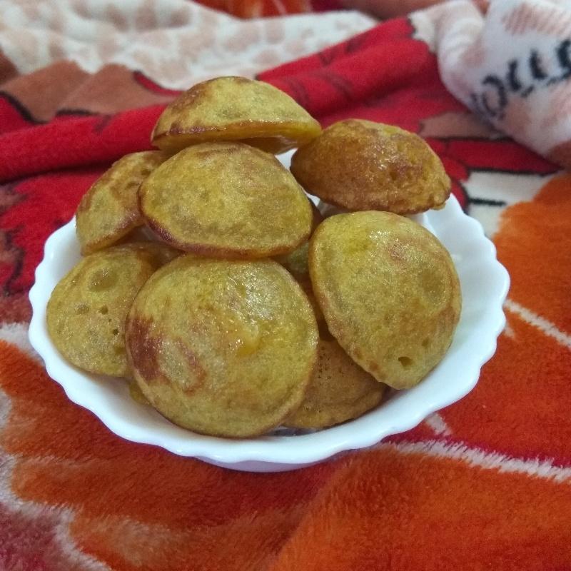 How to make sweet potato pancake