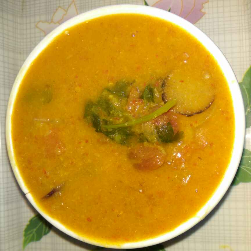 Photo of radish sambar. by Bhavani Murugan at BetterButter