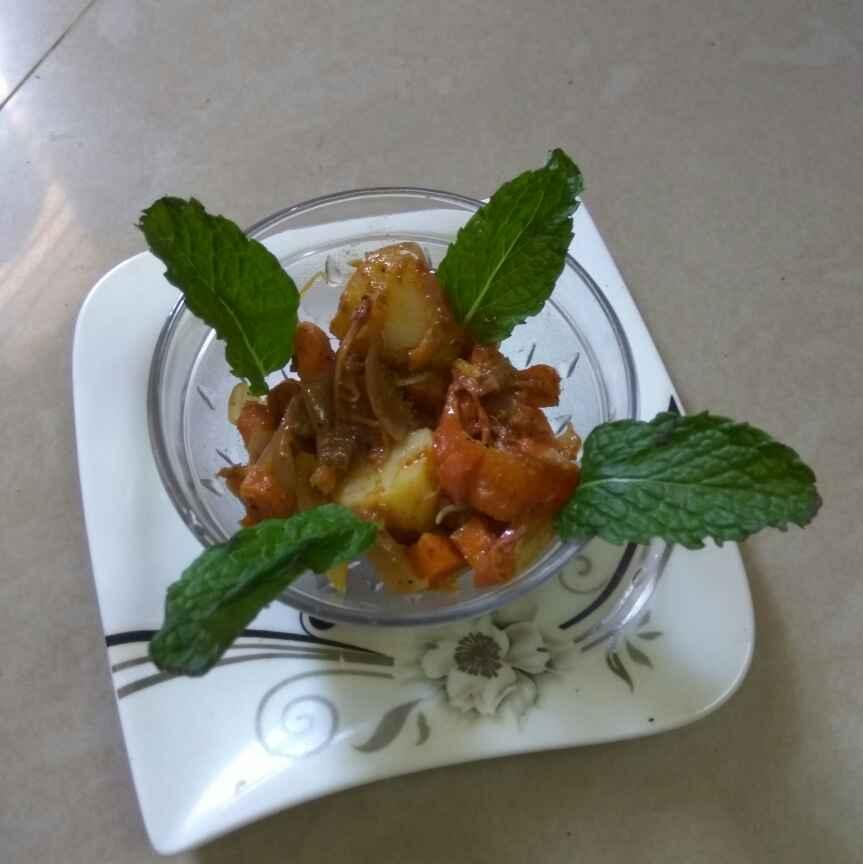 How to make வெஜ் கிரேவி