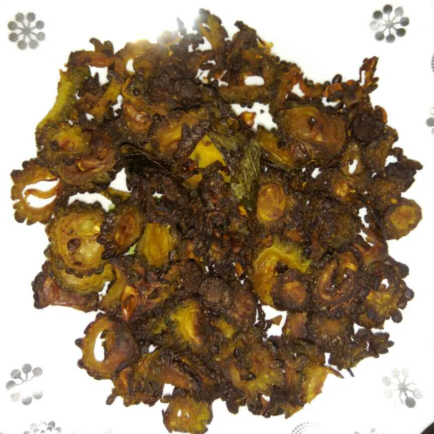 Photo of Bittergourd curd fry by Bhavani Murugan at BetterButter