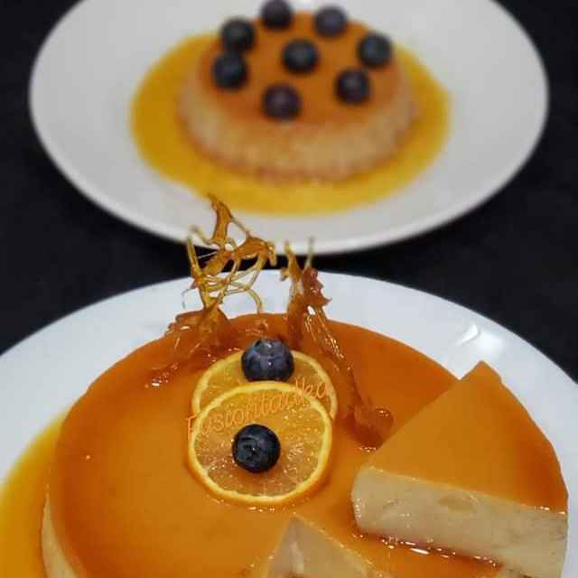 Photo of Orange Flan by Bhavisha Talati at BetterButter
