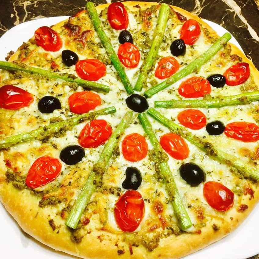 Photo of Multigrain pizza by Bhavisha Talati at BetterButter