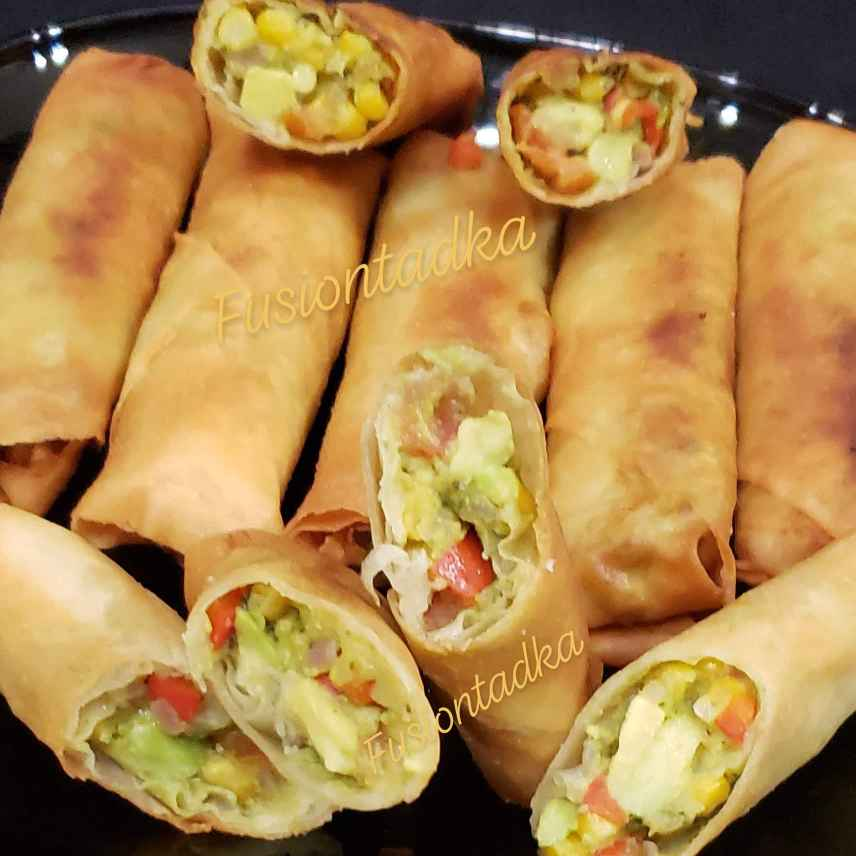 Photo of Avocado spring roll by Bhavisha Talati at BetterButter