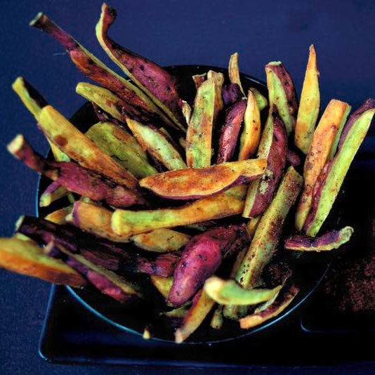 Photo of Baked Sweet Potato Fries with Sumac by Bhavita Singh at BetterButter