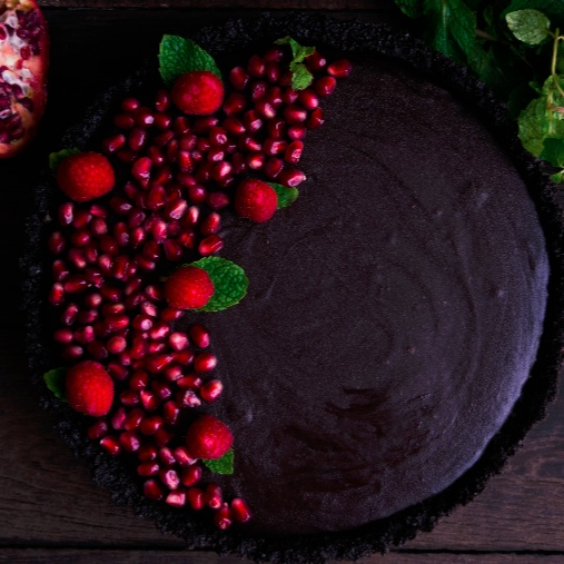Photo of Chocolate Caramel Tart with an Oreo crust. by Bhavita Singh at BetterButter