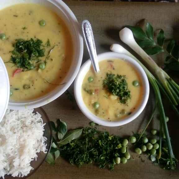 Photo of Aloo Matar Curry by Bhavna Nagadiya at BetterButter