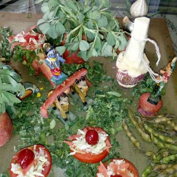 Photo of Salad sajavat by Bhavna Nagadiya at BetterButter