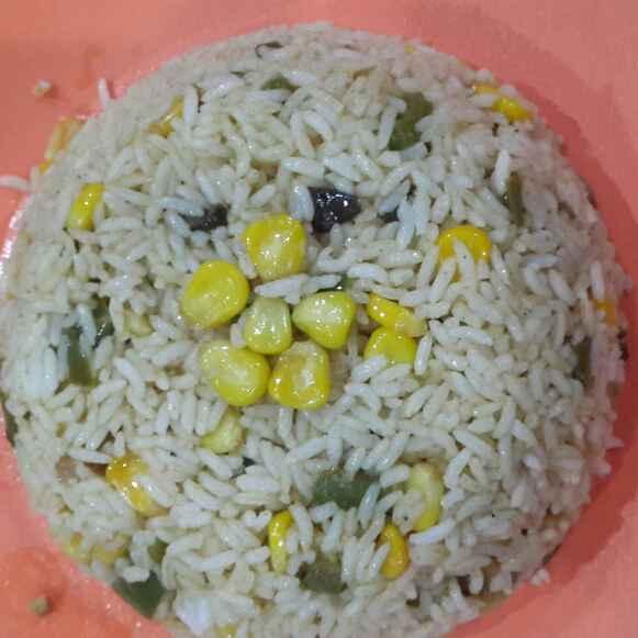Photo of Corn Capsicum Rice by Bhavya Ram Iyengar at BetterButter