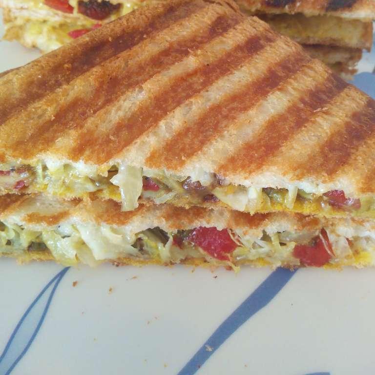 Photo of Mix Veg Sandwich by bhawna kabra at BetterButter