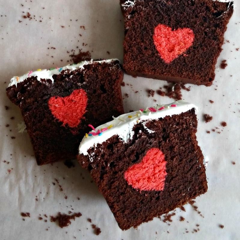 Photo of Hidden Heart Cake /  Surprise Cake  /   Valentine Cake by Bhawya Sankar at BetterButter