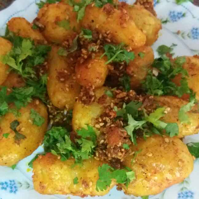 Photo of Masala baby potatoes by Bhumika Gandhi at BetterButter