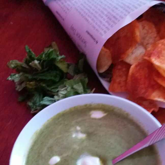 Photo of Lahsuni green dip by Bhumika Gandhi at BetterButter