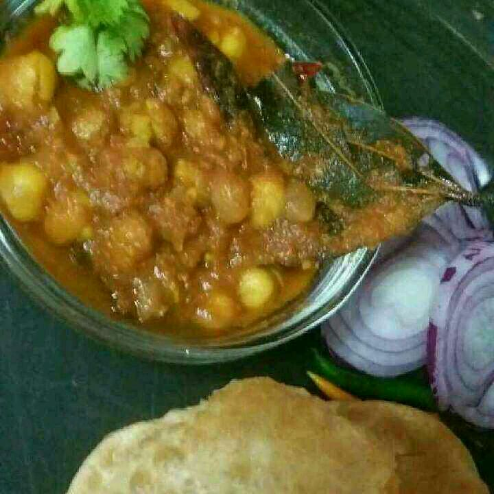 How to make Chole puri