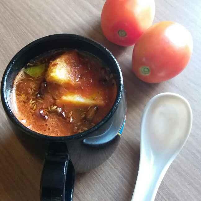 Photo of Tomato soup ( No onion, No garlic ) by Bhumika Gandhi at BetterButter