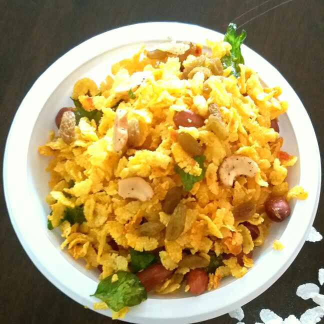 Photo of Instant poha chevda by Bhumika Gandhi at BetterButter
