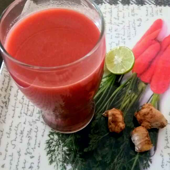 Photo of Chukundar gajar smoothie by Bhumika Gandhi at BetterButter