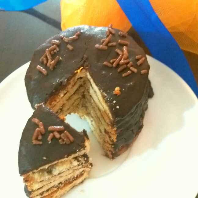 How to make नो बेक चॉकलेट टावर