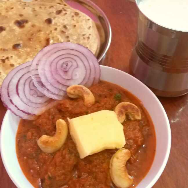 How to make Kaju butter masala ( kaju curry )