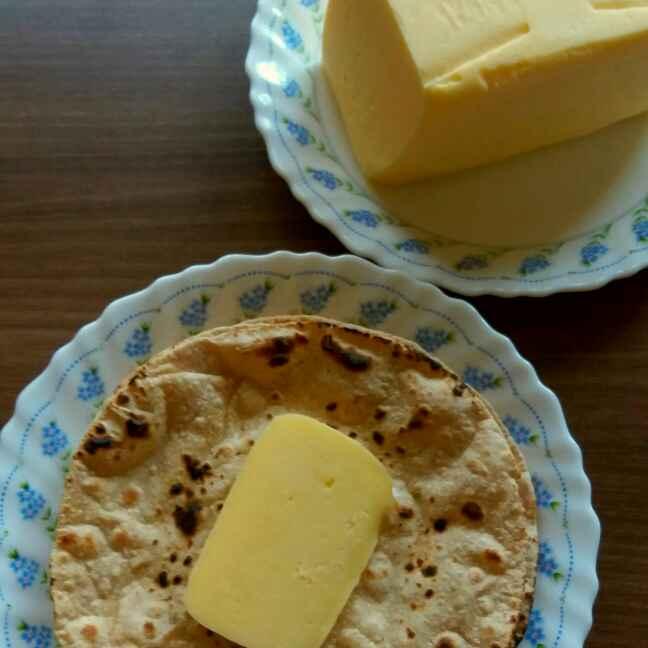 How to make बटर रोटी