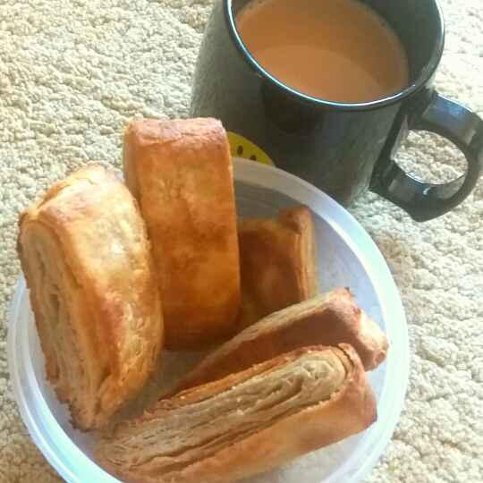 How to make Puff pastry biscuit ( gehu ke aate se bani)