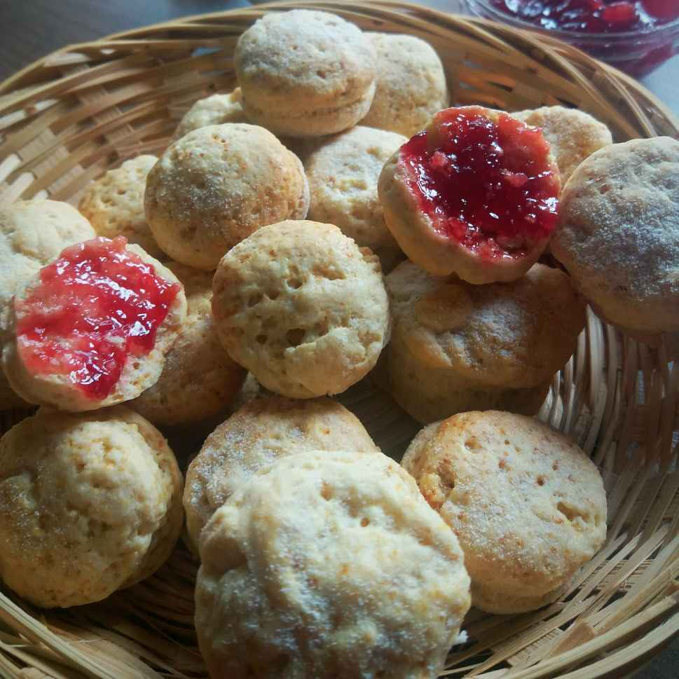 Photo of German mini scones (eggless,  no yeast ) by Bhumika Gandhi at BetterButter