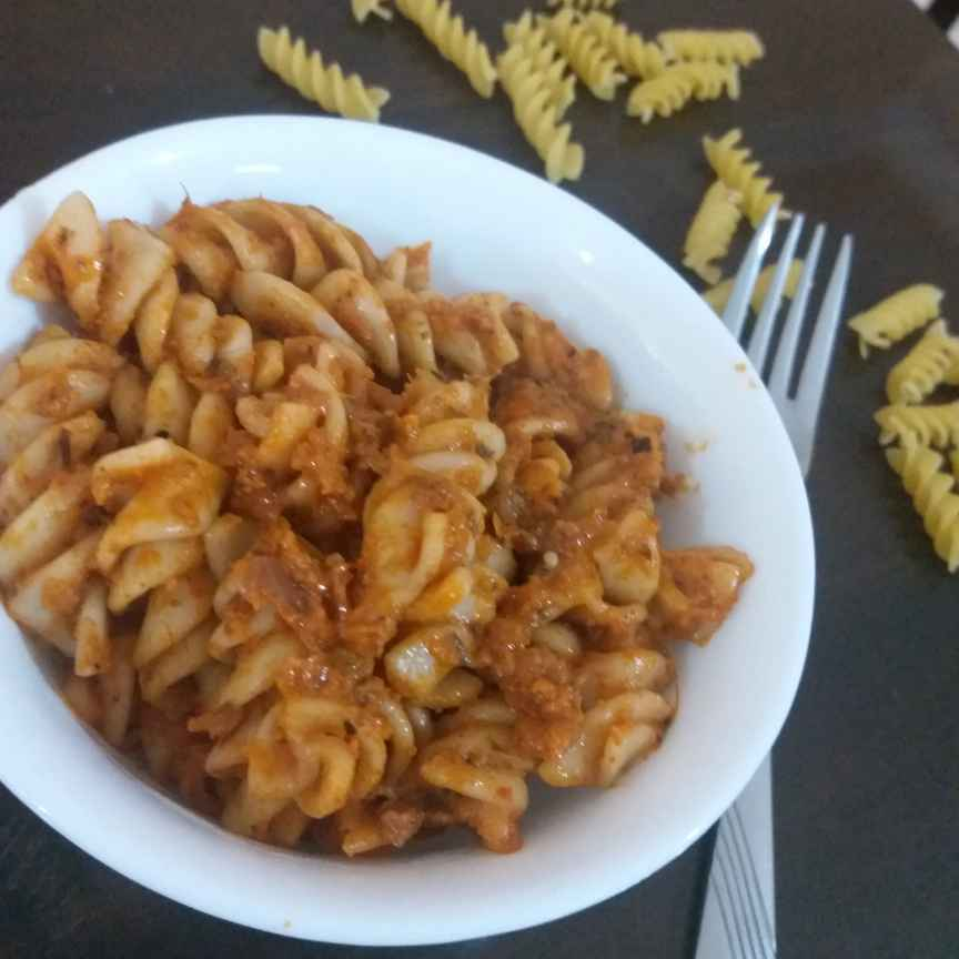 Photo of Red saus pasta by Bhumika Gandhi at BetterButter