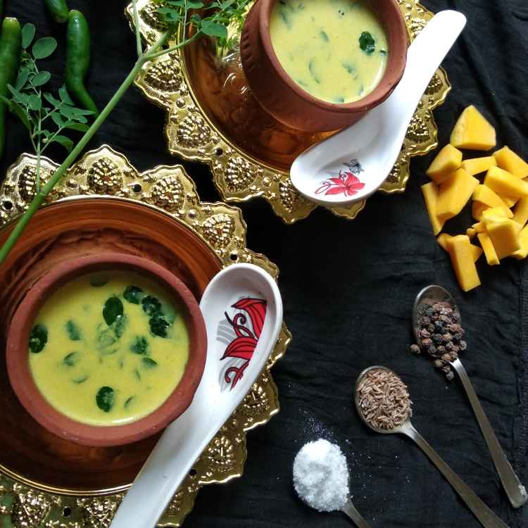 Photo of Pumpkin moringa leaves soup by Bhuvana Selvaraj at BetterButter