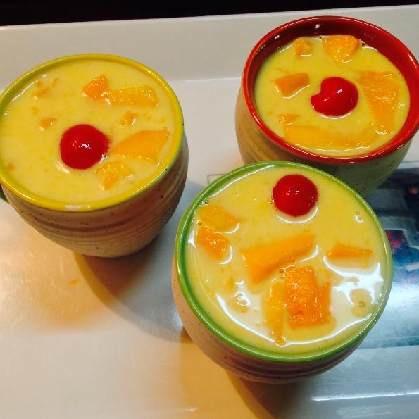 Photo of Mango phirni #Mango #MagicofMangoes#betterbutter by Bijal Parikh at BetterButter