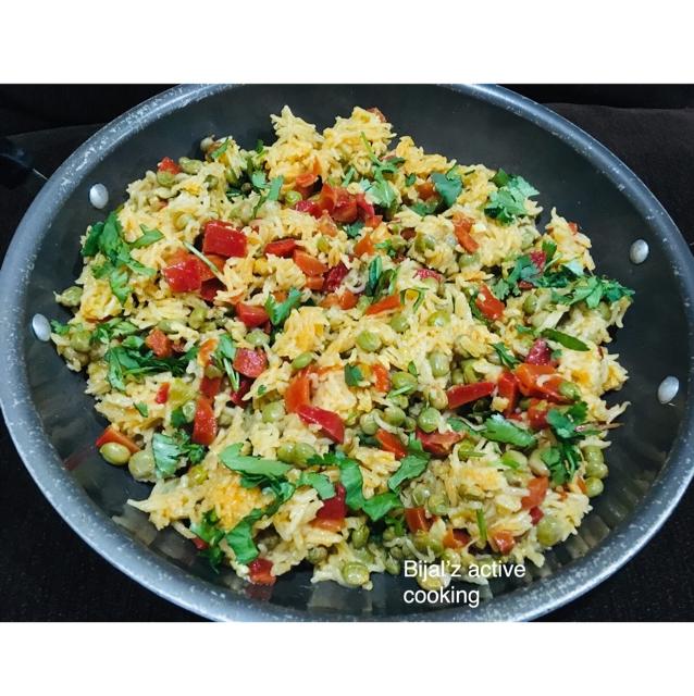 How to make Tuver -gajar pulao (pigeon peas  & carrot pulao)