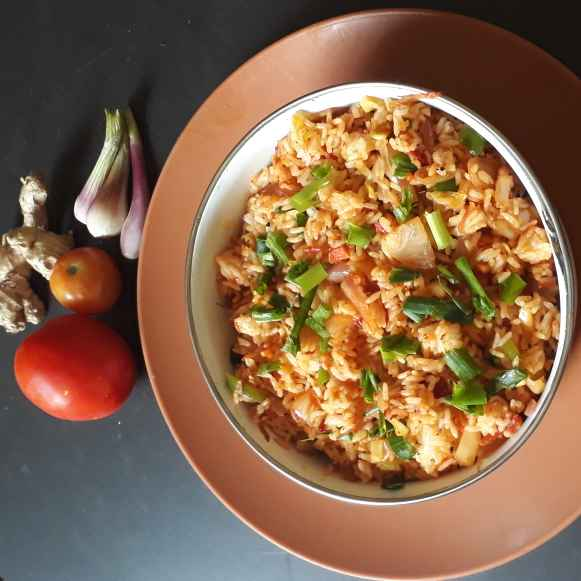 Photo of Sezvan fried rice by Bijal Thaker at BetterButter