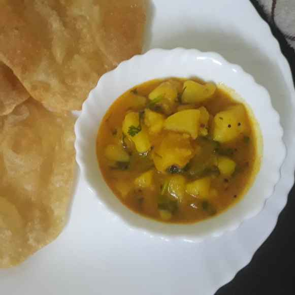 Photo of Poori bhaji by Bijal Thaker at BetterButter