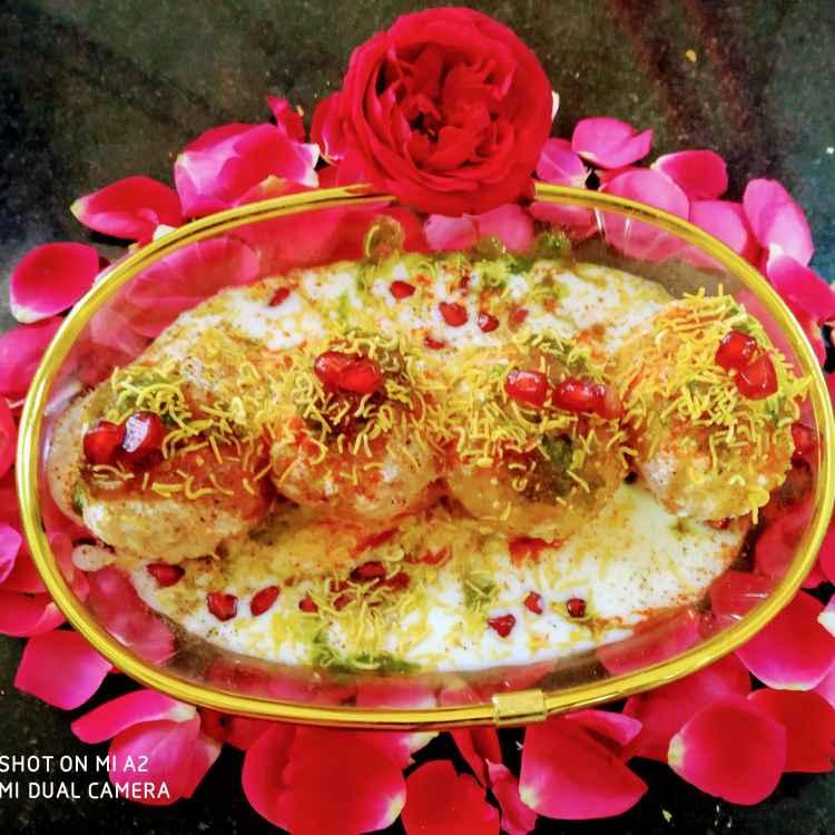 How to make Bread dahi vda chaat
